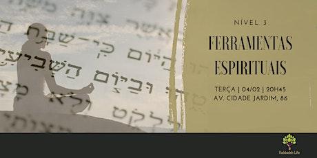 Kabbalah nível 3   Ferramentas espirituais  ingressos