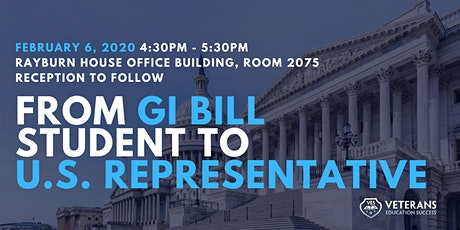 Congressional Roundtable: From GI Bill Student to U.S. Representative tickets