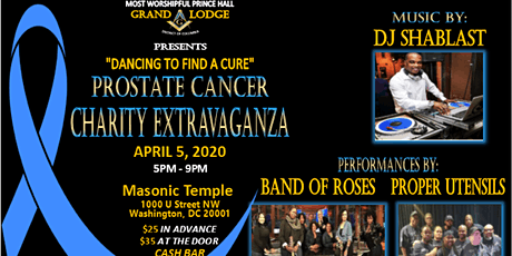 MWPHGLDC Prostate Cancer Charity Extravaganza tickets
