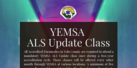 YEMSA: ALS Update Class tickets