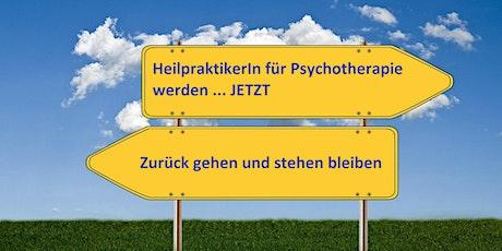 Heilpraktiker Psychotherapie - Ausbildung ab 13.8.2020 vormittags Tickets