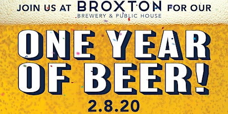 One Year of Beer! tickets