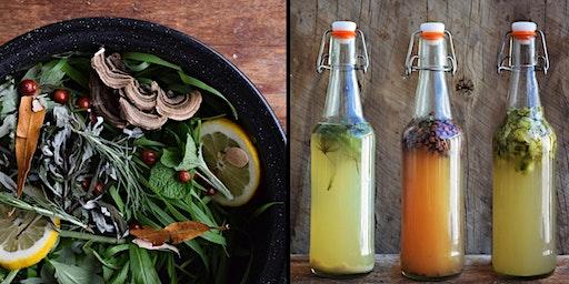 Brewing Wild Beers, Extracting Wild Yeast + Plants Walk, Snacks and Drinks