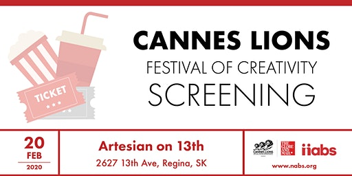 Cannes Lions Regina Screening 2020