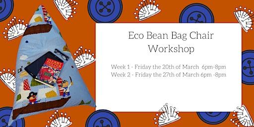 Kid's Eco Bean Bag Chair Workshop