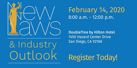 2020 New Laws & Industry Outlook tickets