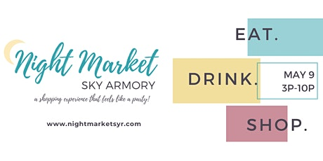 Spring Night Market 2020 Vendor Registration tickets