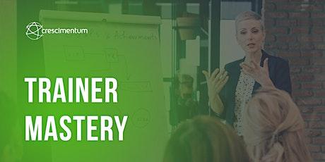 Trainer Mastery – Formação de treinadores de alta performance ingressos