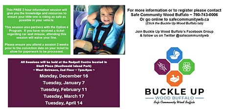 Child Passenger Safety Information Session tickets