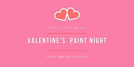 Valentines Paint Night tickets