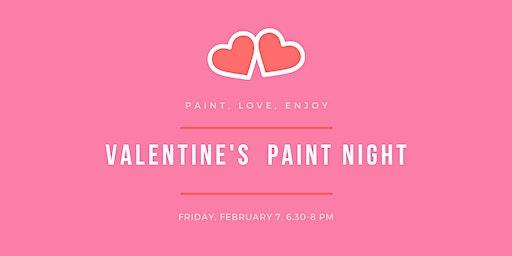 Valentines Paint Night