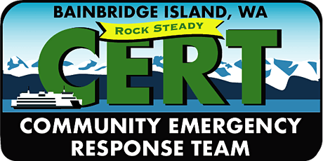 Bainbridge Island CERT Basic Training tickets