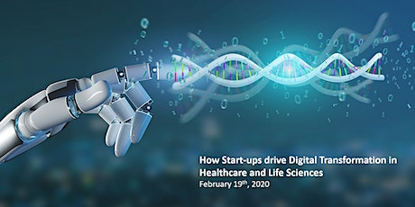 How Start-ups drive Digital Transformation in Healthcare and Life Sciences tickets