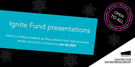 Ignite Fund presentations tickets