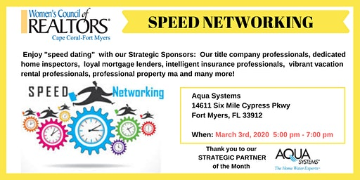 Speed Networking!