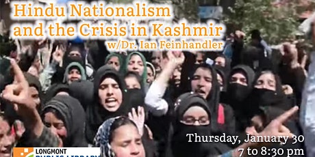 Hindu Nationalism & The Crisis in Kashmir tickets