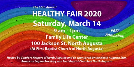 Healthy Fair 2020 - North Augusta tickets