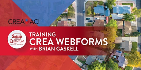 CREA Webforms Training with Brian Gaskell tickets