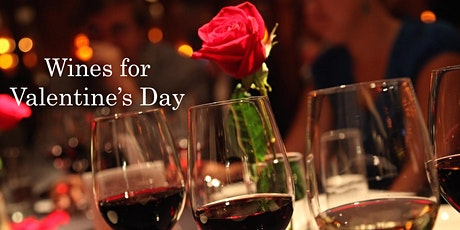Wines for Valentine's Day tickets
