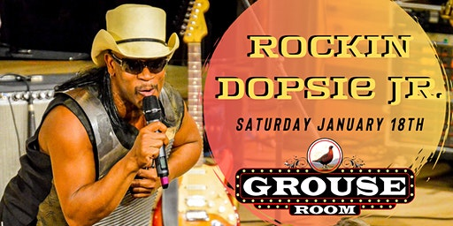 Rockin Dopsie Jr. at The Grouse Room