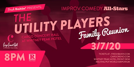 The Utility Players: Family Reunion at Cargo Concert Hall tickets
