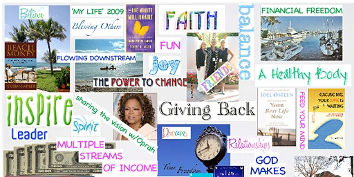 Widows Workshop/Vision Board Experience