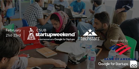 Techstars Startup Weekend Bakersfield 02/20 tickets