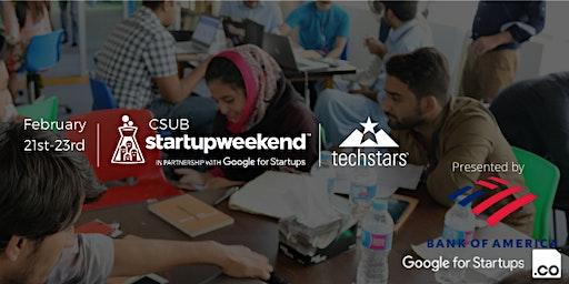 Techstars Startup Weekend Bakersfield 02/20