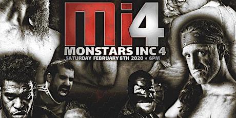 Monstar's Inc 4 tickets