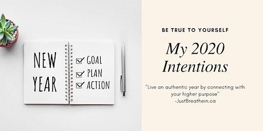 2020 Intention Setting Workshop