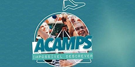 Acampamento de Jovens Shalom Acamp´s Curitiba (2 LOTE SERVOS) 02 Pessoas ingressos
