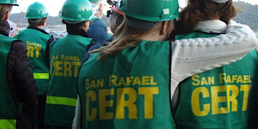 First Aid for Disaster Response for San Rafael CERTs