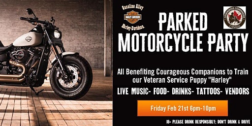 Parked Motorcycle Party
