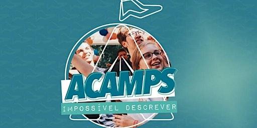 Acampamento de Jovens Shalom Acamp´s Curitiba (2 LOTE SERVOS) 03 Pessoas