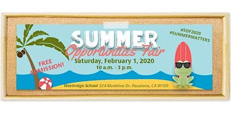 29th Annual Summer Opportunities Fair tickets