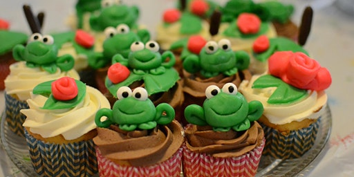 LEAP Year Froggy Cupcakes