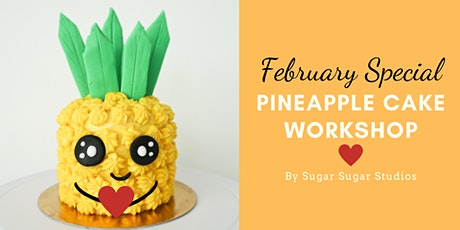 Cake Decorating: Pineapple Cake Workshop (Bonus Edition: Heart) tickets