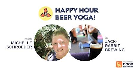 Happy Hour Beer Yoga! tickets