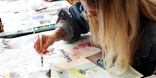 Vision Board Day- Maak jouw doelen visueel en behaal ze sneller!