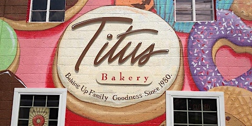 Wine and Donuts with Titus Bakery