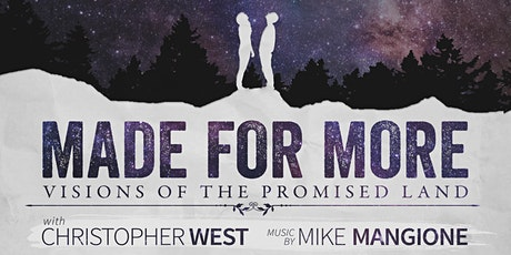 Made For More - Vancouver, Canada - Being Rescheduled. TBD tickets