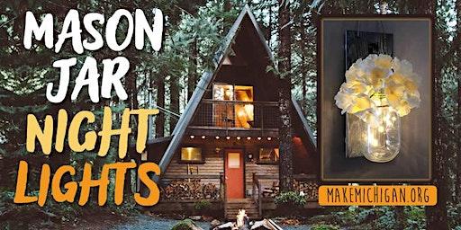 Mason Jar Night Lights - Portage