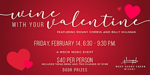 Wine with your Valentine - A WSCW Music Event