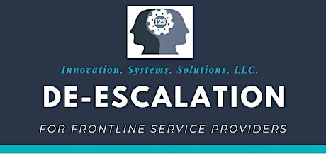 De-Escalation Training: For Frontline Service Provider (Kirkland Police Department, WA)- Rescheduled - May 27, 2020 tickets