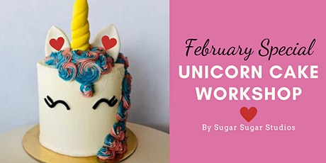 Cake Decorating: Unicorn Cake Workshop (Bonus Edition: Heart) tickets