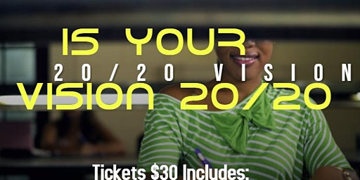 Is Your Vision 20/20 - Vision Board Party