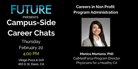 FUTURE Campus-Side Career Chats: Monica Montano, Ph.D. tickets