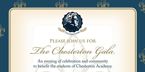Chesterton Academy Second Annual Gala