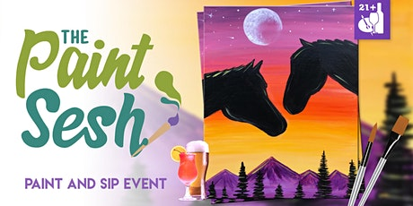 "Paint and Sip in Downtown Riverside, CA – ""Spirit Riders"" tickets"