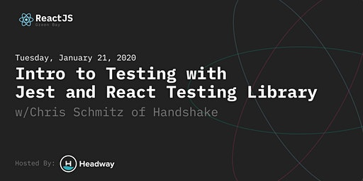 Intro to Testing with Jest & React Testing Library
